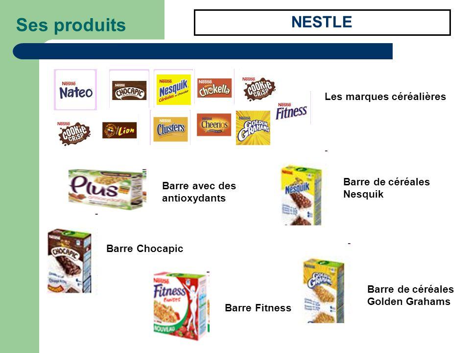 Ses produits NESTLE Les marques céréalières Barre de céréales Nesquik