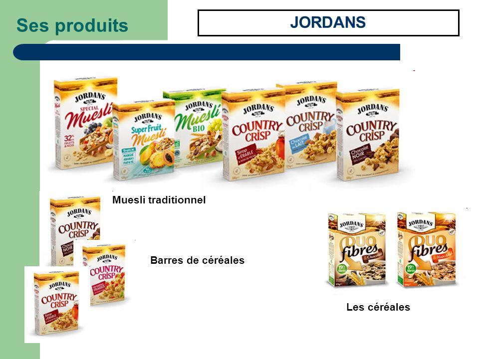 Ses produits JORDANS Muesli traditionnel Barres de céréales