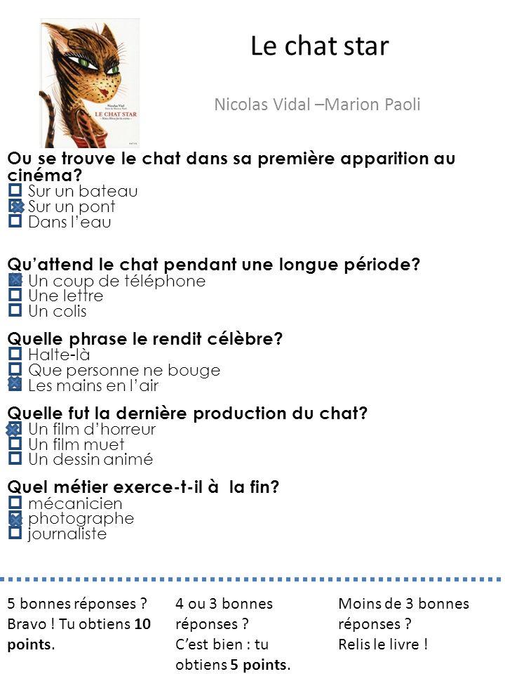 Nicolas Vidal –Marion Paoli
