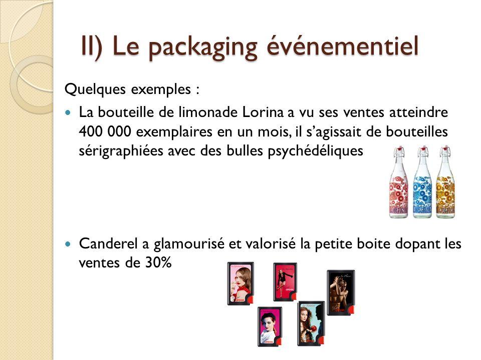 II) Le packaging événementiel