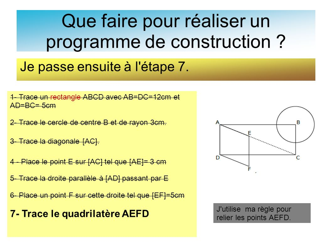 Que faire pour réaliser un programme de construction