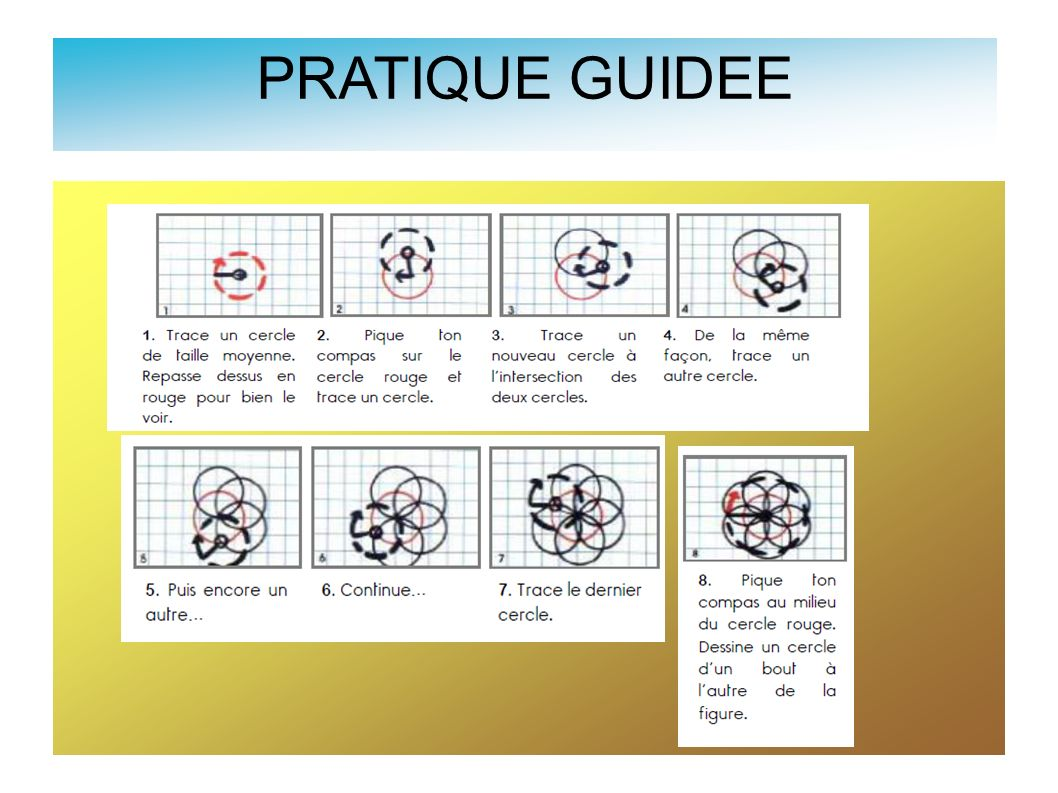 PRATIQUE GUIDEE