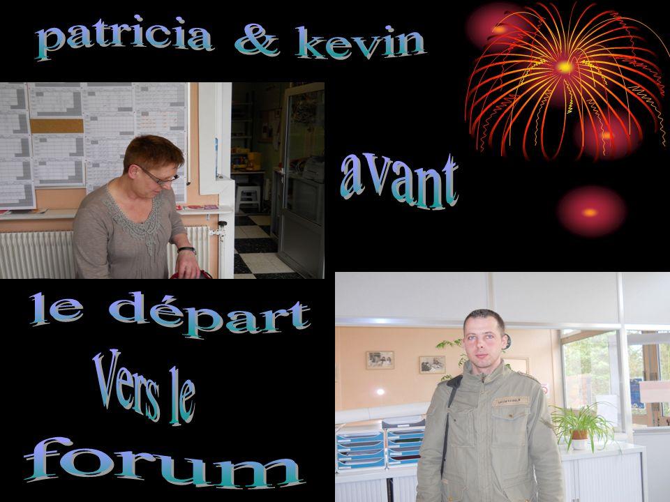 patricia & kevin avant le départ Vers le forum