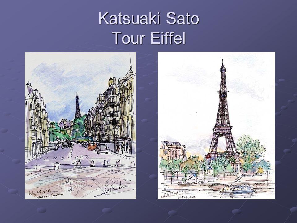 Katsuaki Sato Tour Eiffel