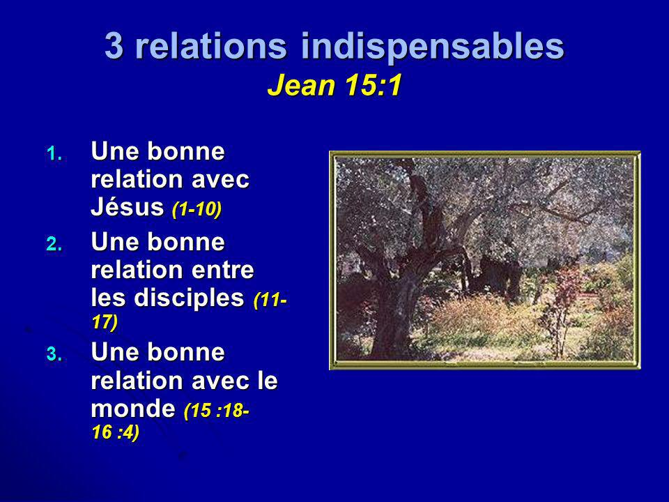 3 relations indispensables Jean 15:1