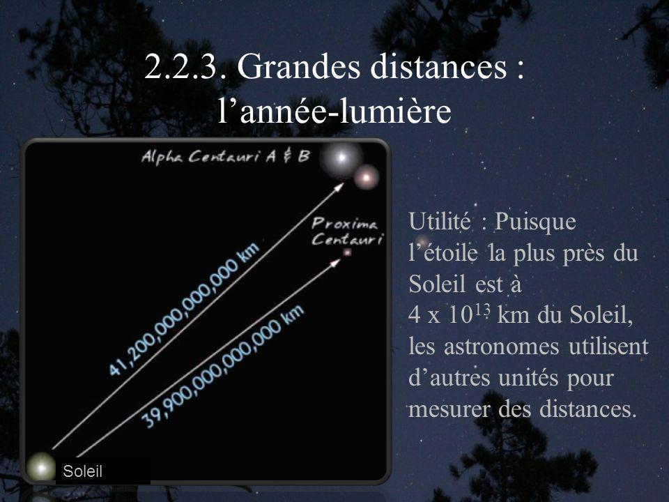 2.2.3. Grandes distances : l'année-lumière
