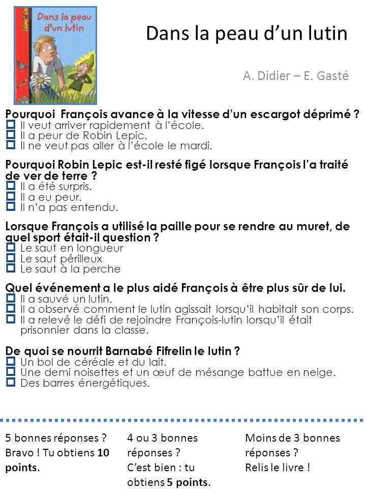 Dans la peau d'un lutin A. Didier – E. Gasté
