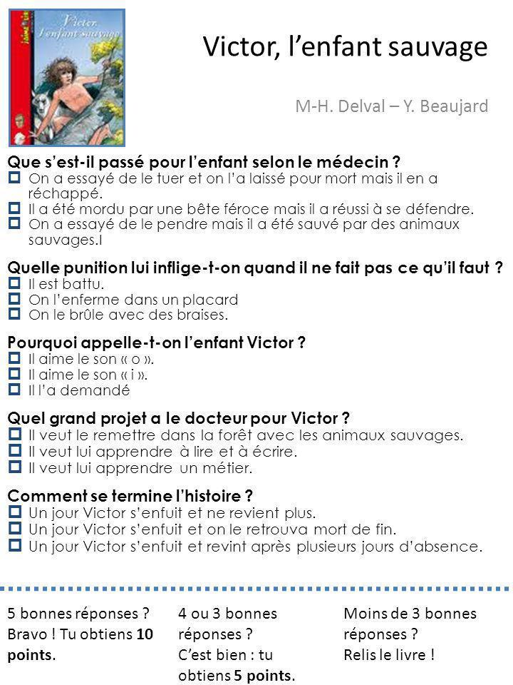 Victor, l'enfant sauvage