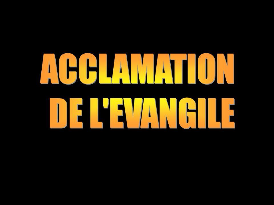ACCLAMATION DE L EVANGILE