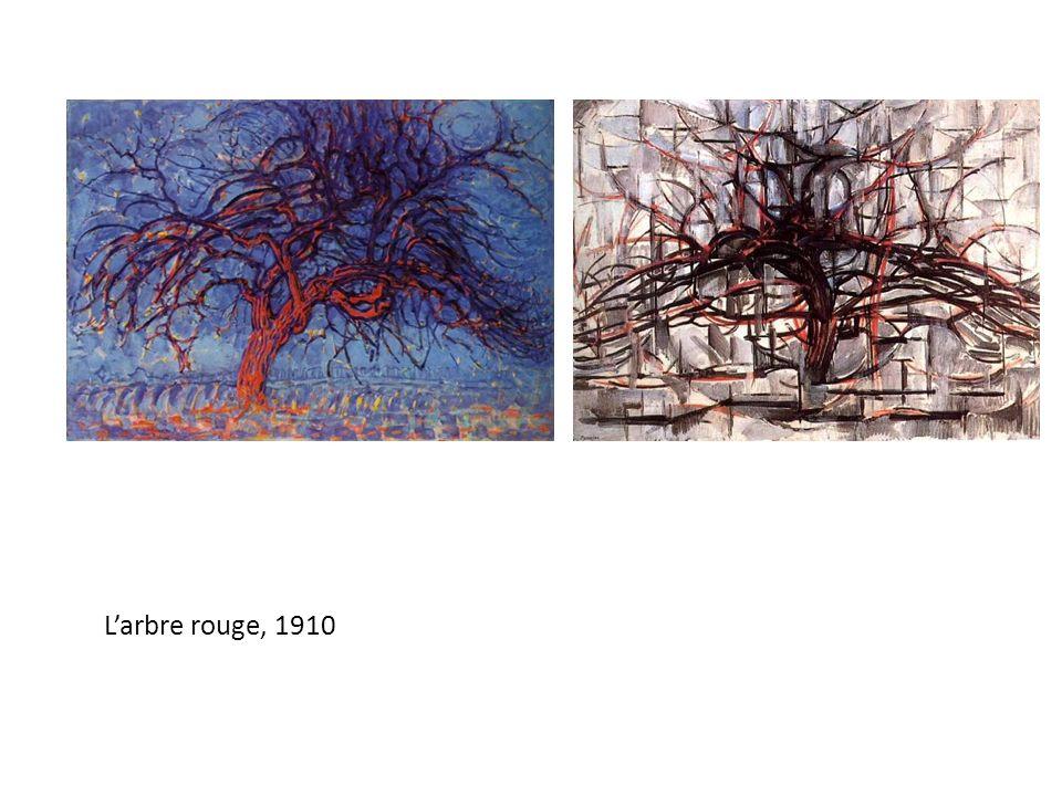 L'arbre rouge, 1910