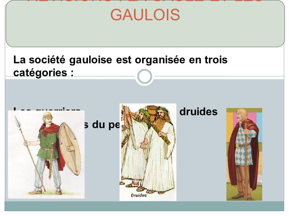 RÉVISIONS : LA GAULE ET LES GAULOIS
