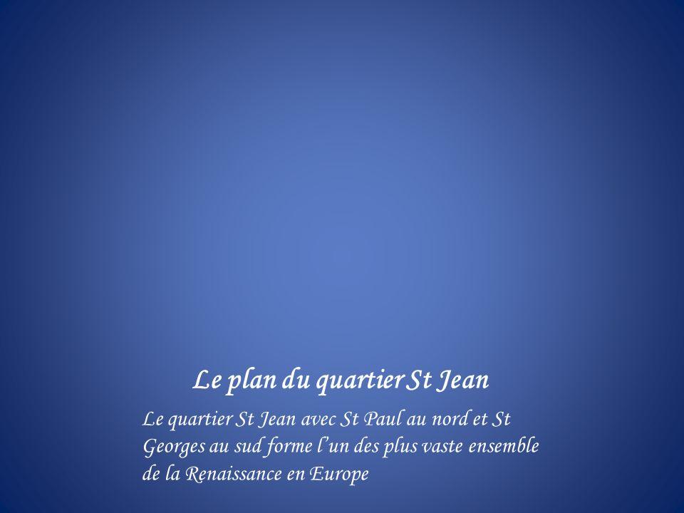 Le plan du quartier St Jean