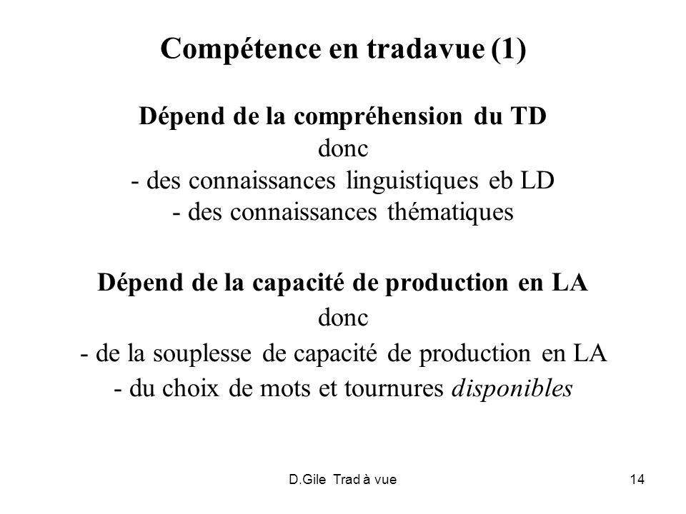 Compétence en tradavue (1)