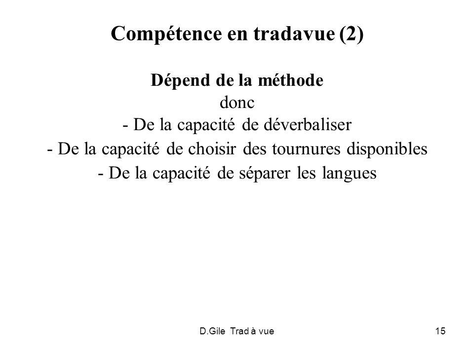 Compétence en tradavue (2)