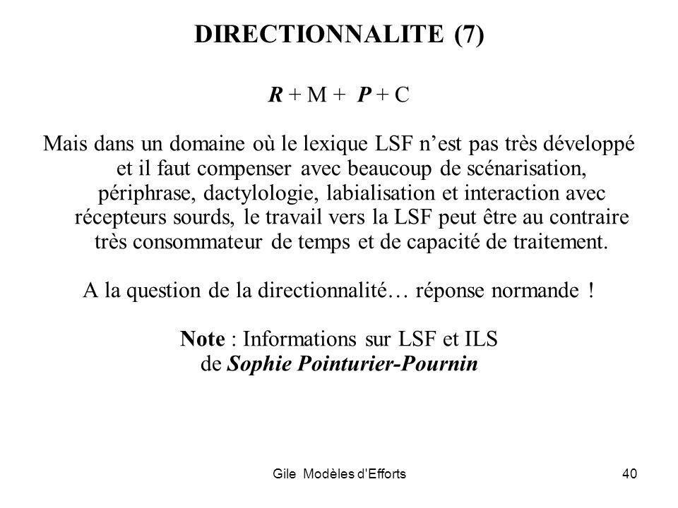 DIRECTIONNALITE (7) R + M + P + C