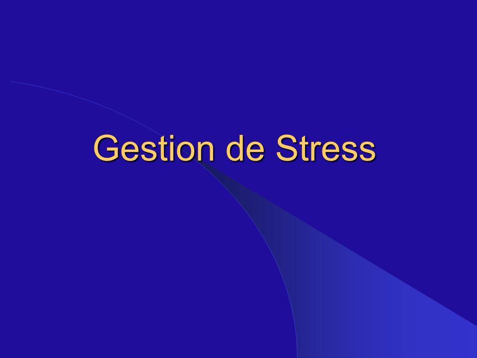 Gestion de Stress