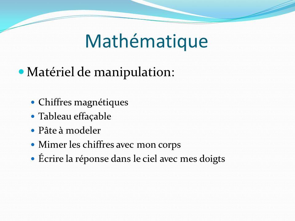 Mathématique Matériel de manipulation: Chiffres magnétiques