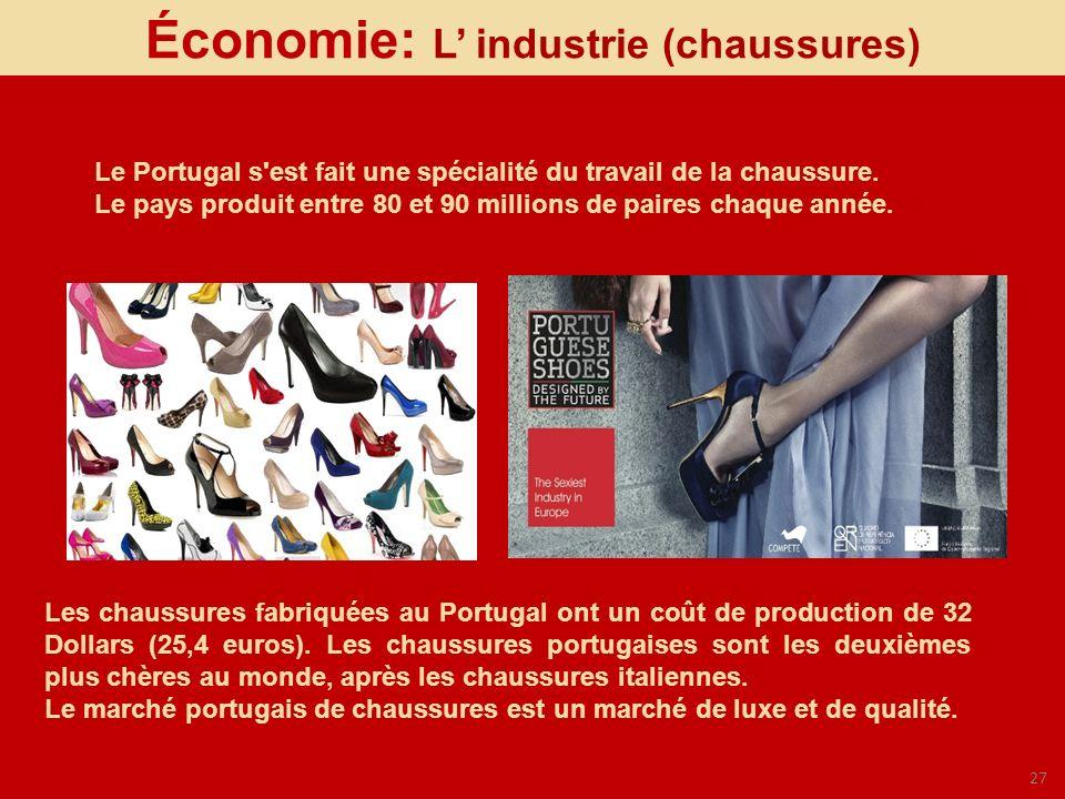 Économie: L' industrie (chaussures)