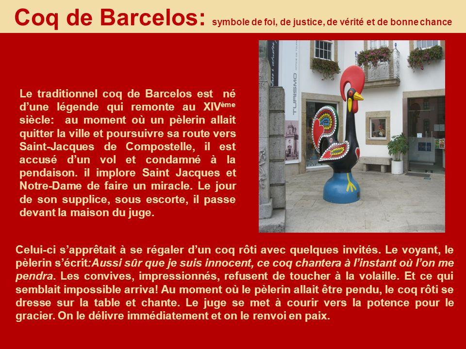 Coq de Barcelos: symbole de foi, de justice, de vérité et de bonne chance