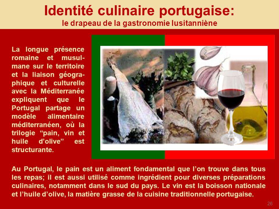 Identité culinaire portugaise: