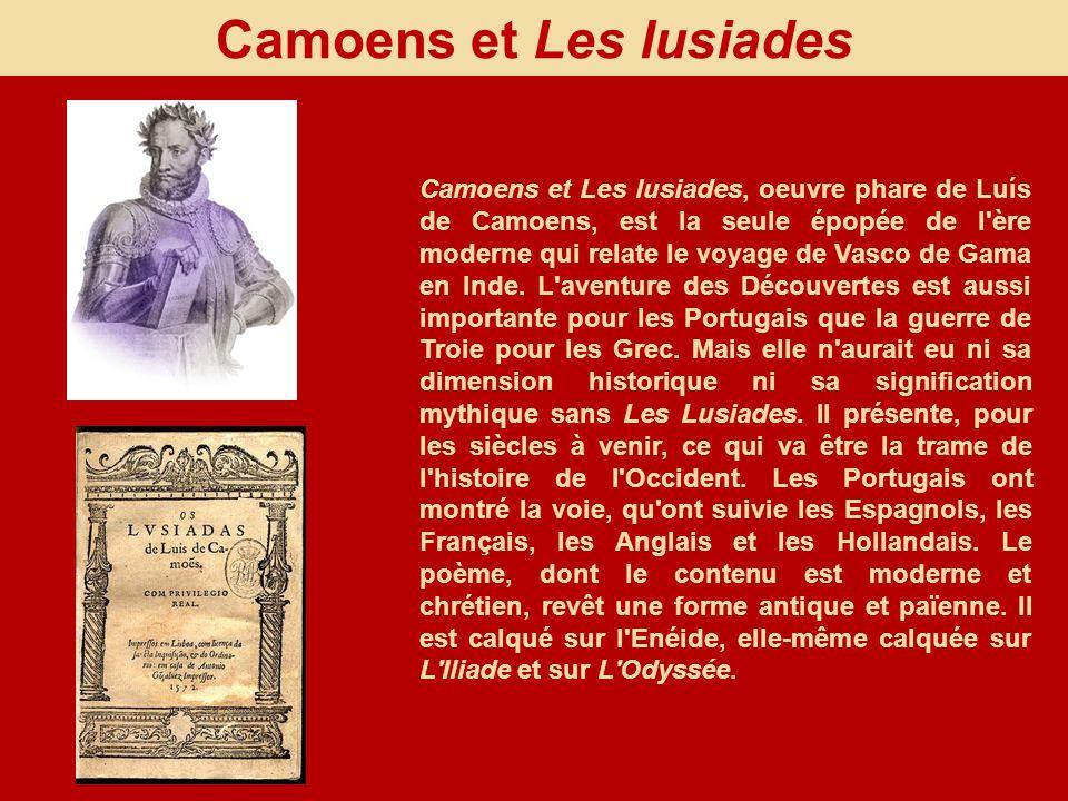 Camoens et Les lusiades