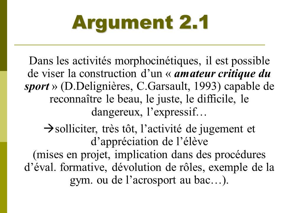 Argument 2.1