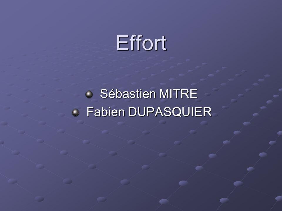 Sébastien MITRE Fabien DUPASQUIER