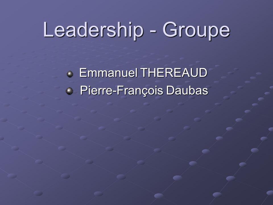 Emmanuel THEREAUD Pierre-François Daubas
