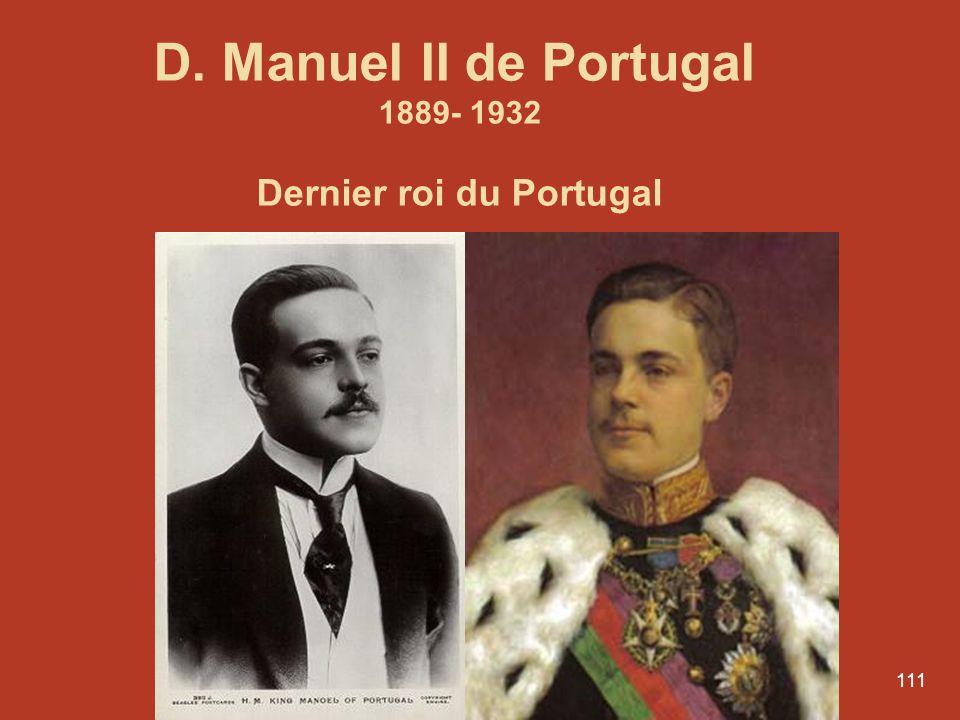 Dernier roi du Portugal