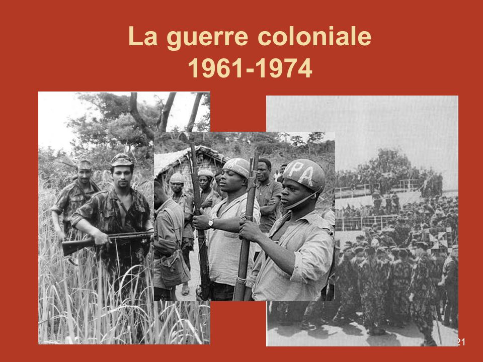 La guerre coloniale 1961-1974