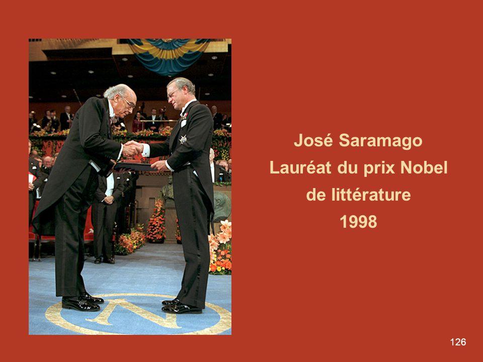 Lauréat du prix Nobel de littérature