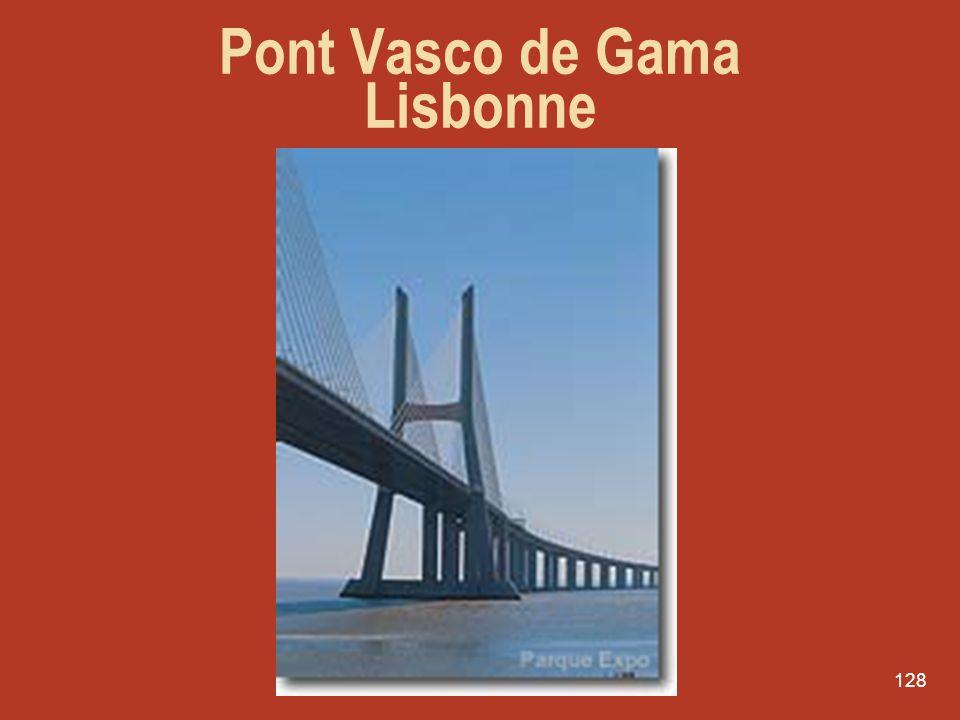 Pont Vasco de Gama Lisbonne