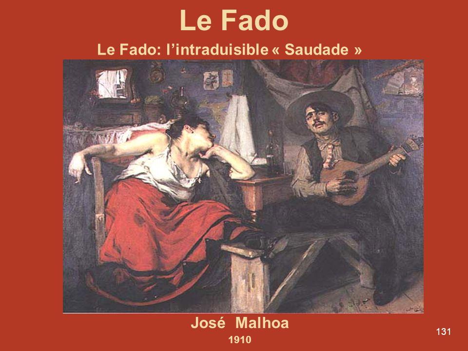 Le Fado Le Fado: l'intraduisible « Saudade » José Malhoa 1910