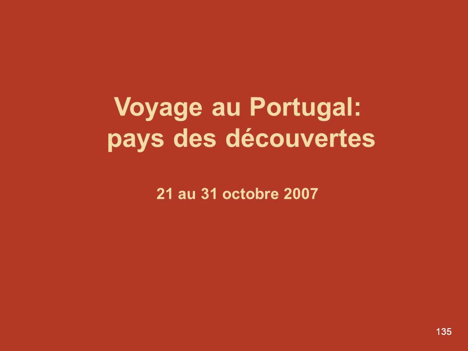 Voyage au Portugal: pays des découvertes