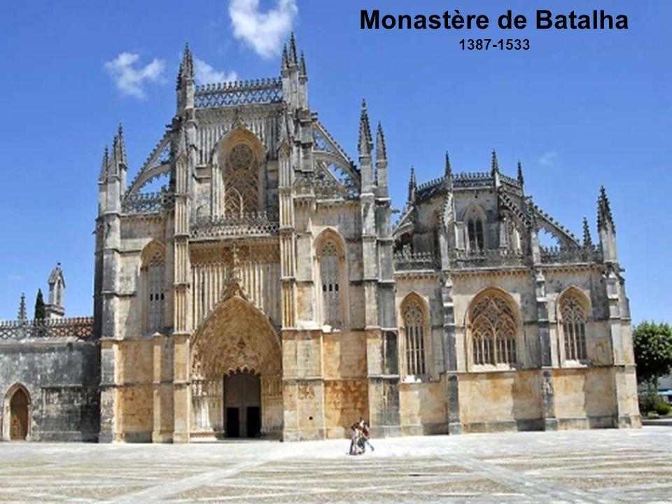 Monastère de Batalha 1387-1533