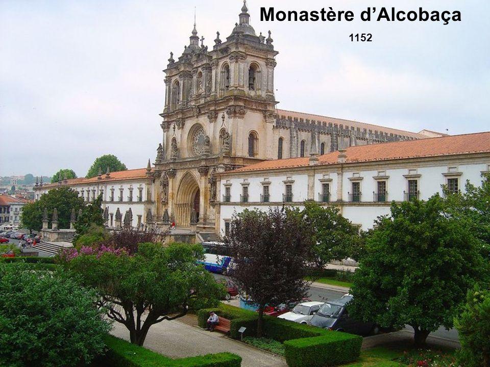 Monastère d'Alcobaça 1152