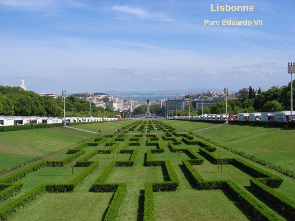 Lisbonne Parc Eduardo VII
