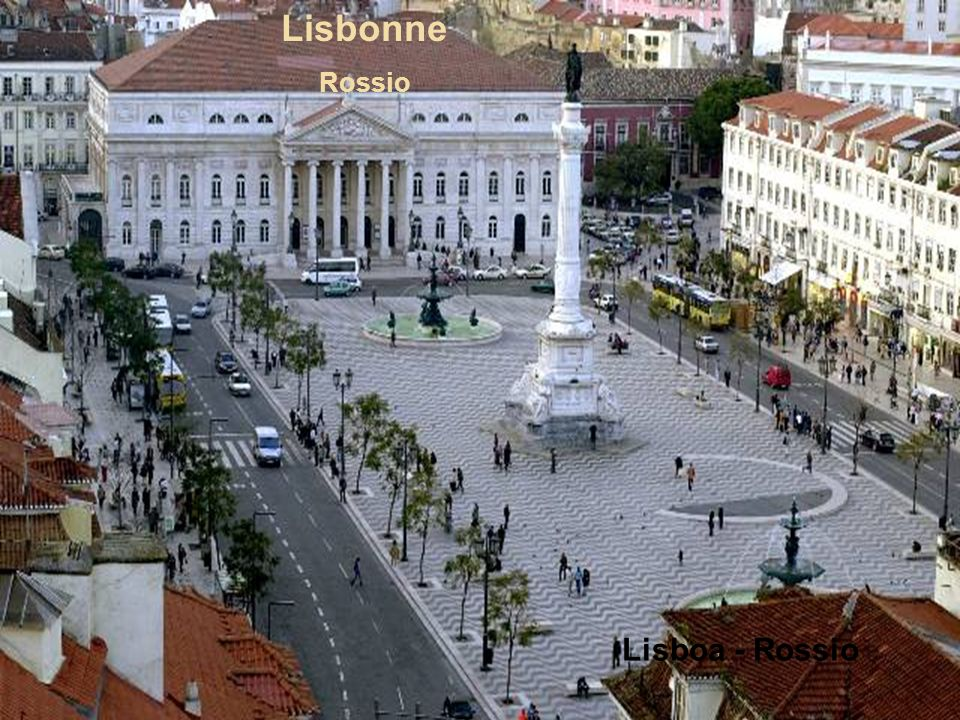 Lisbonne Rossio Lisboa - Rossio