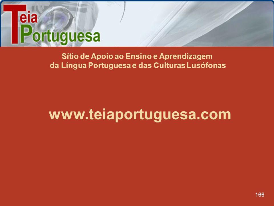 Sítio de Apoio ao Ensino e Aprendizagem da Língua Portuguesa e das Culturas Lusófonas