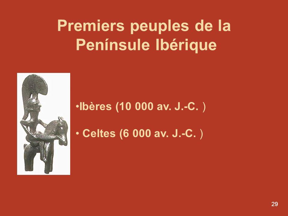 Premiers peuples de la Penínsule Ibérique