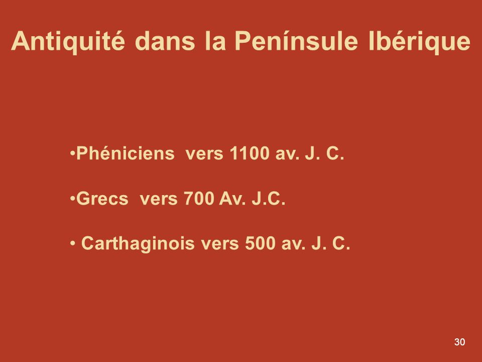 Antiquité dans la Penínsule Ibérique