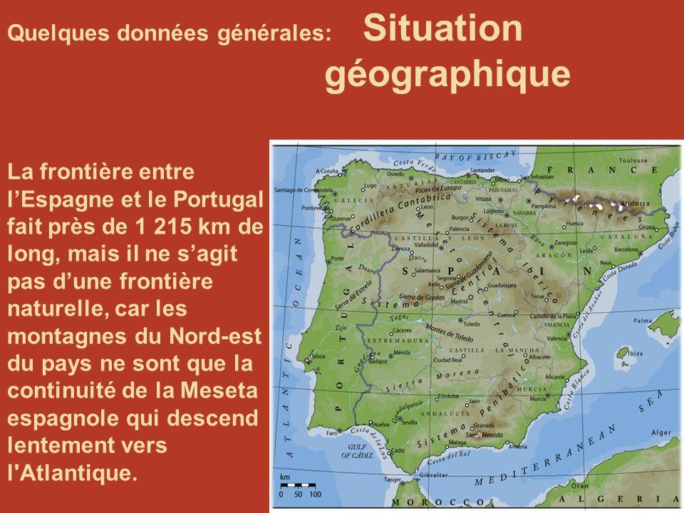 Quelques données générales: Situation géographique