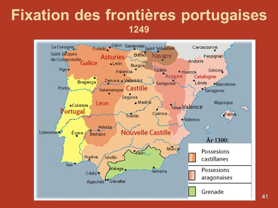 Fixation des frontières portugaises
