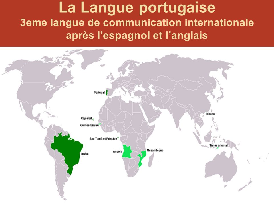 La Langue portugaise 3eme langue de communication internationale
