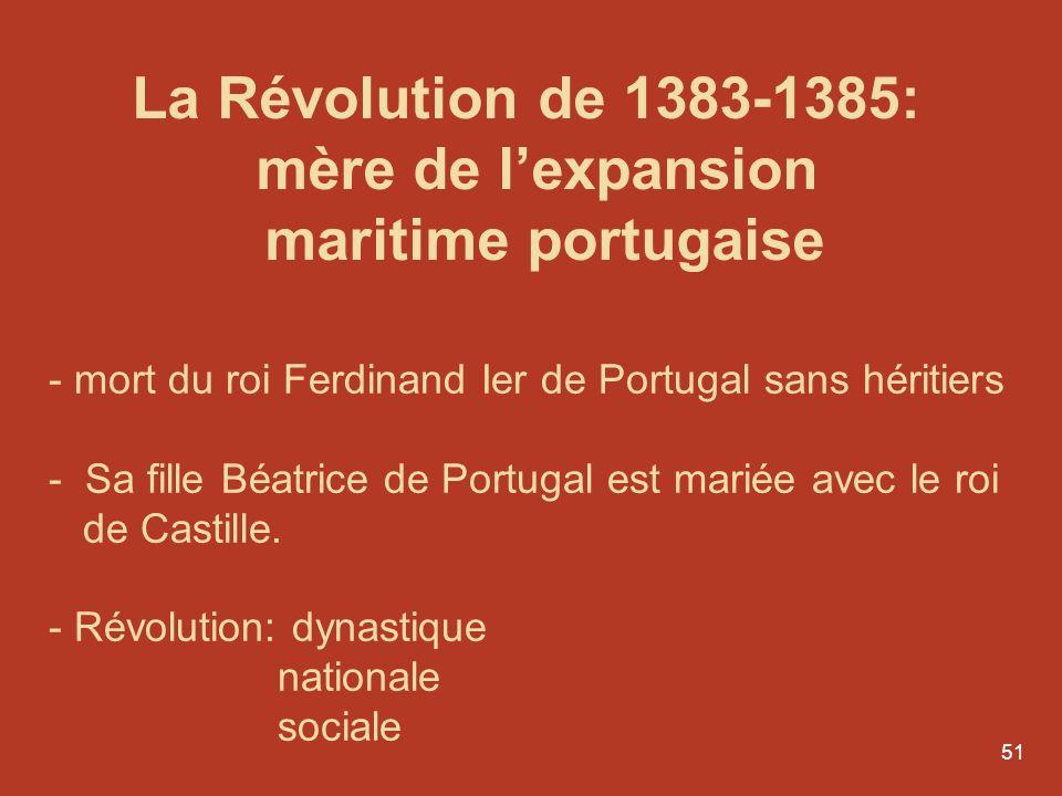 mère de l'expansion maritime portugaise