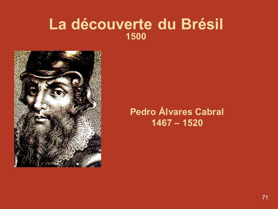 La découverte du Brésil 1500