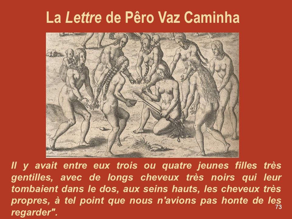 La Lettre de Pêro Vaz Caminha
