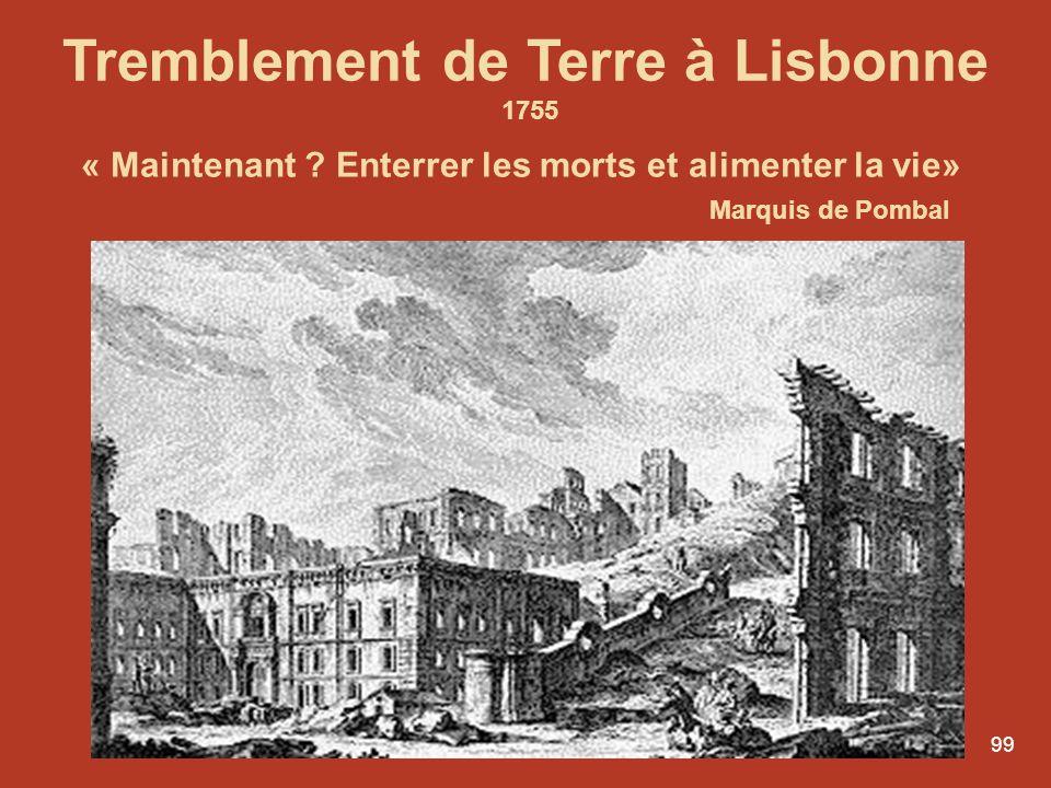 Tremblement de Terre à Lisbonne