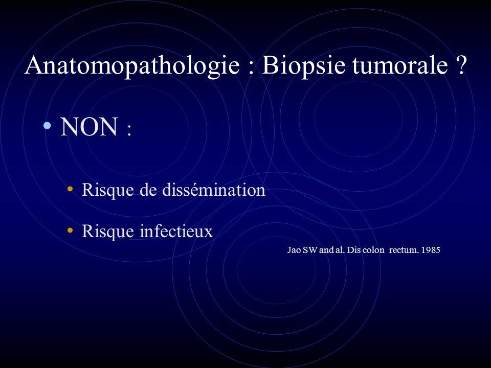 Anatomopathologie : Biopsie tumorale