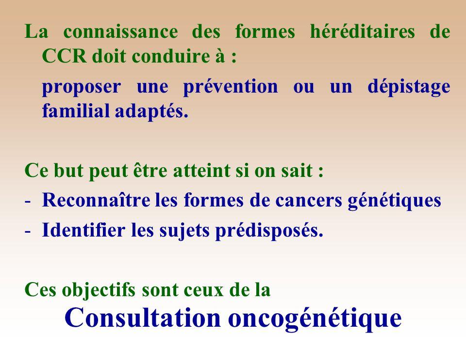 Consultation oncogénétique